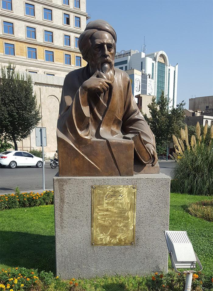 Hafez street statue