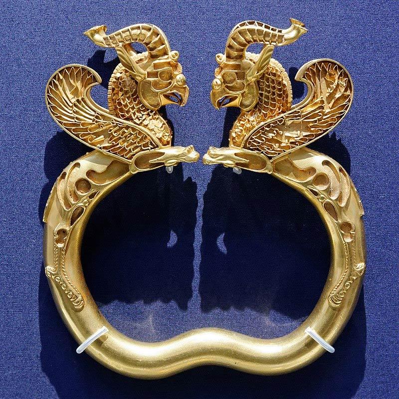 iranian art Oxus treasure