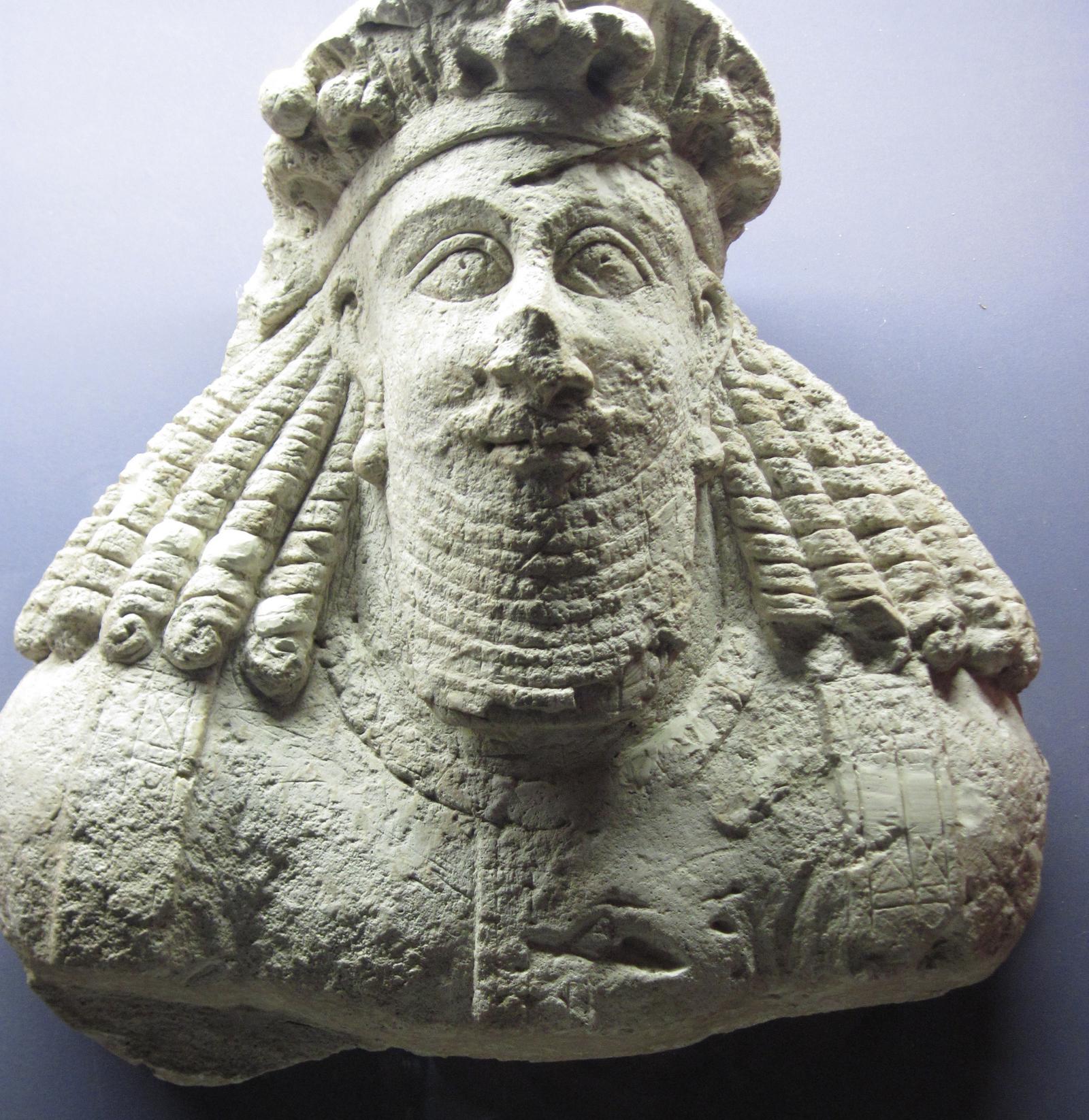 iranian art Sassanid nobleman