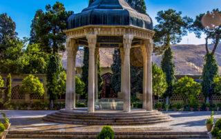 Persian poetry tomb of Hafez